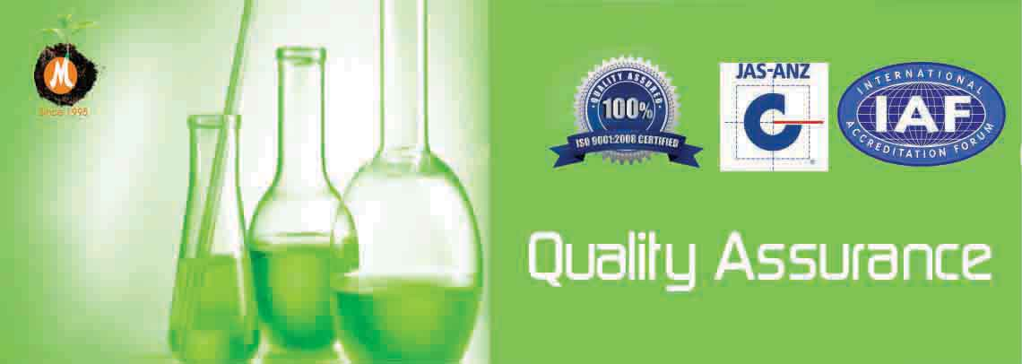 Quality Assurance and Management of New Malwa Agritech Corporation